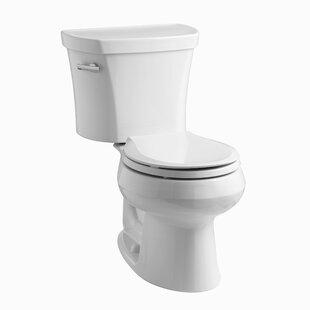 Kohler Wellworth Two Piece Round Front 1 28 Gpf Toilet