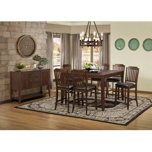 Lynn Counter Height Extendable Dining Table by Alcott Hill