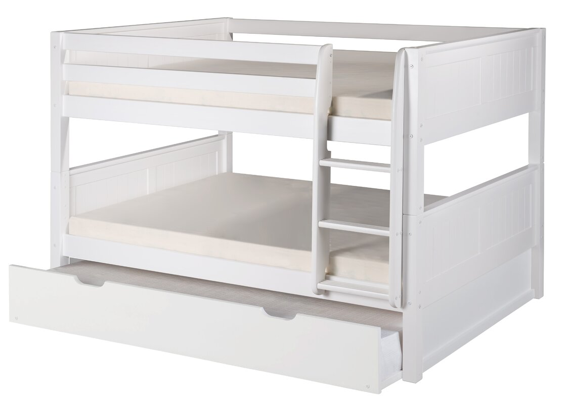 Ordinary Full Bunk Bed With Trundle Part - 14: Camaflexi Full Over Full Bunk Bed With Trundle