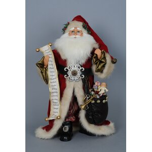 Christmas Old World Santa Figurine