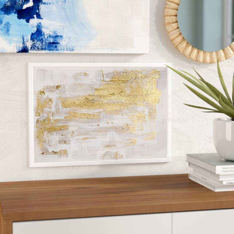 Mercury Row \'Pure Love\' Framed Oil Painting Print on Canvas ...