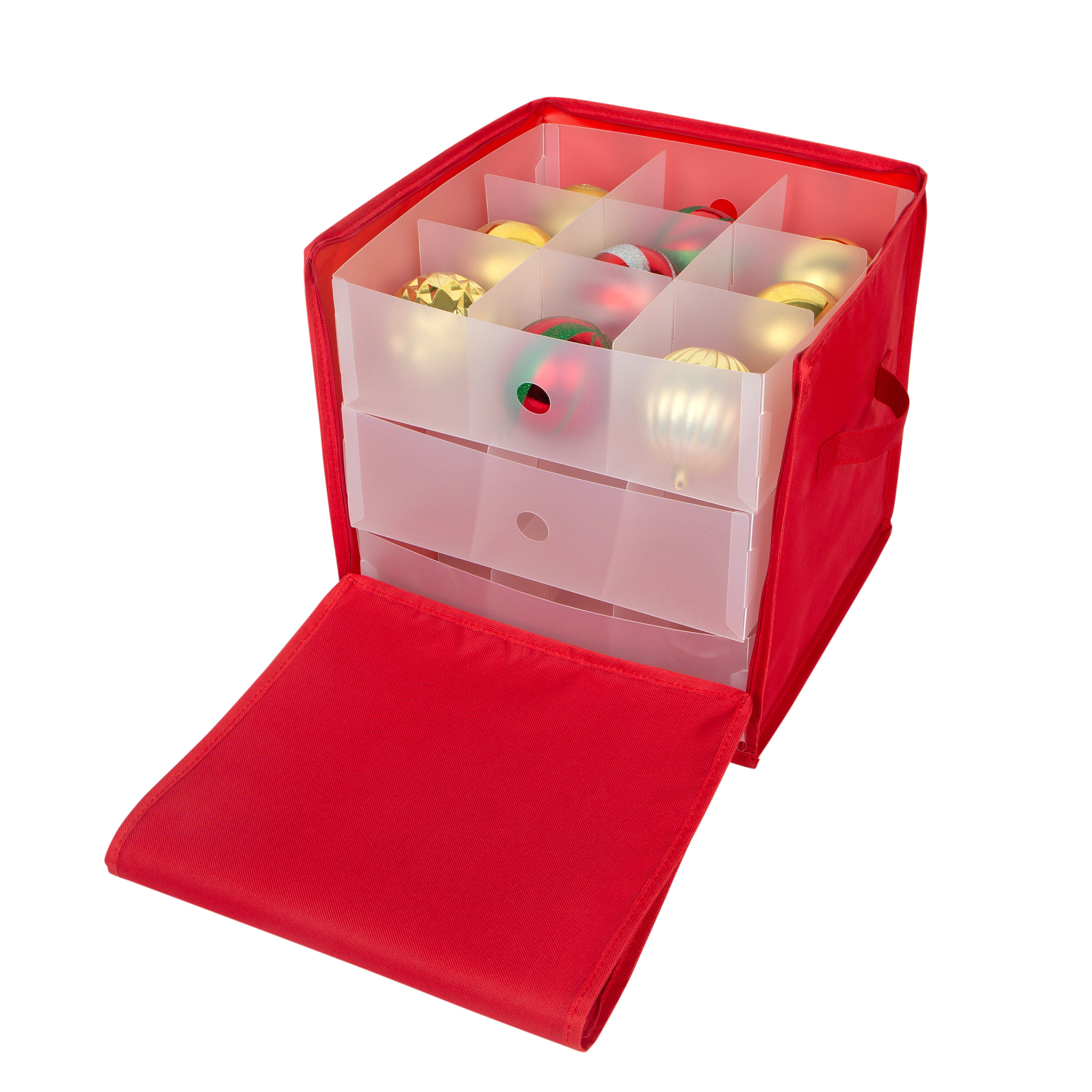 27 Count Stackable Christmas Ornament Storage