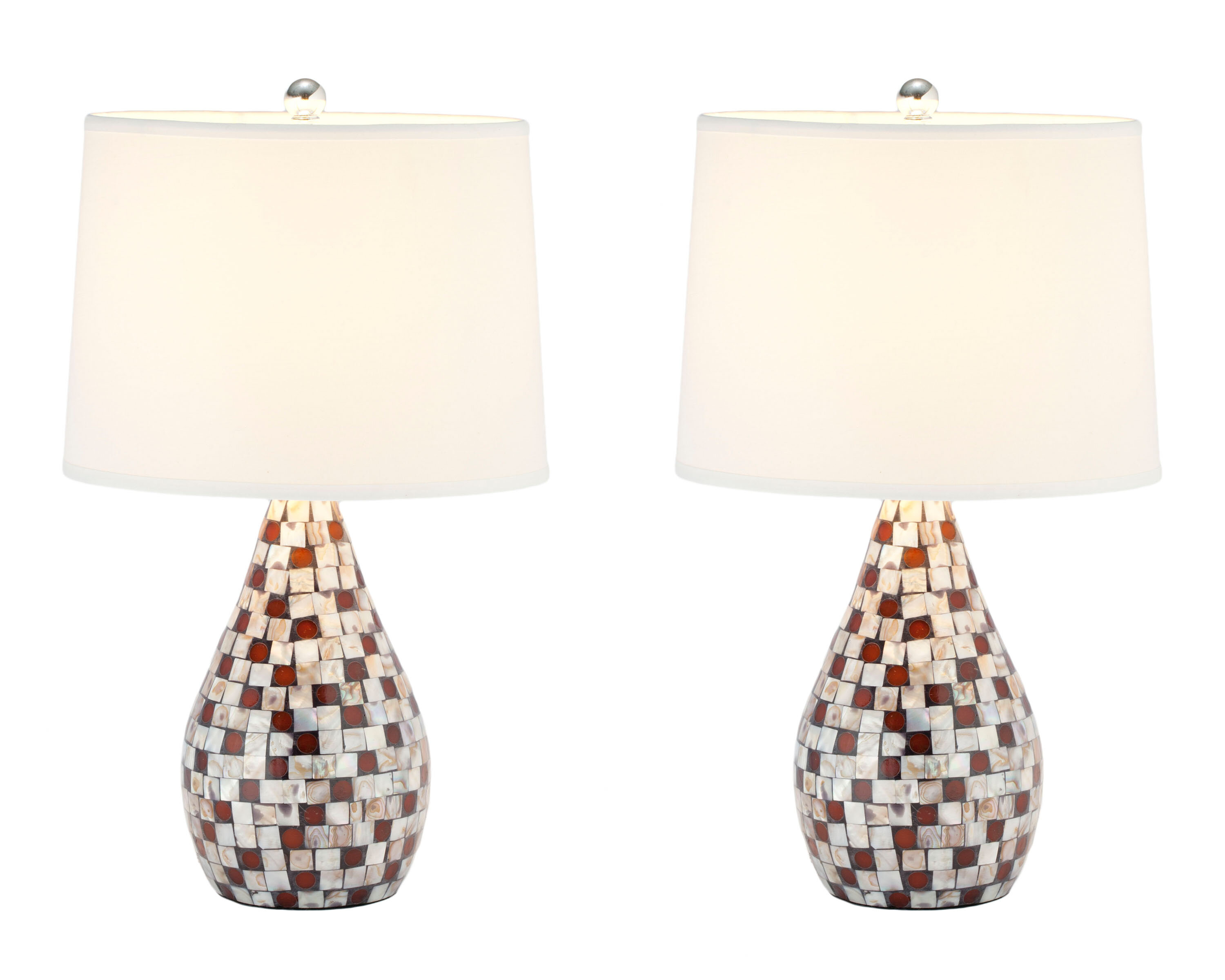 Safavieh mother of pearl 1925 table lamp reviews wayfair aloadofball Image collections