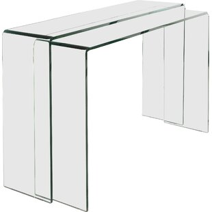Modern & Contemporary Console Table With Mirror Set | AllModern