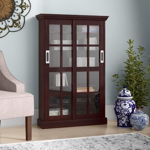 Multimedia storage furniture youll love wayfair sliding door media cabinet malvernweather Gallery