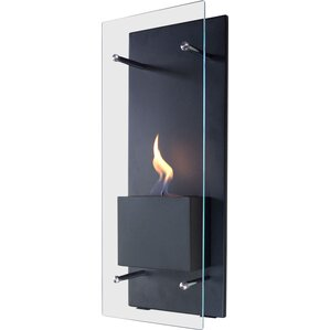 Canello Wall Mount Bio-Ethanol Fireplace by ..