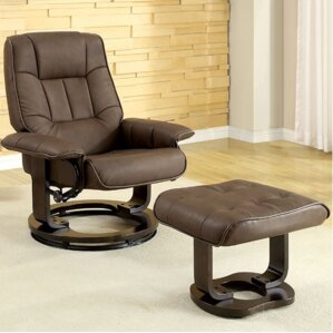 Cheswold Swivel Lounge Chair and Ottoman by ..