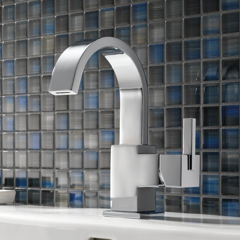 Vero Single Hole Bathroom Faucet With Metal Pop Up Drain