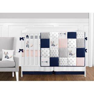 Fox Patch 9 Piece Crib Bedding Set