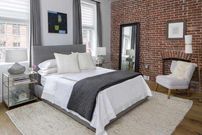 Modern Bedroom Gray the 4 pieces every 20-something's bedroom needs | wayfair