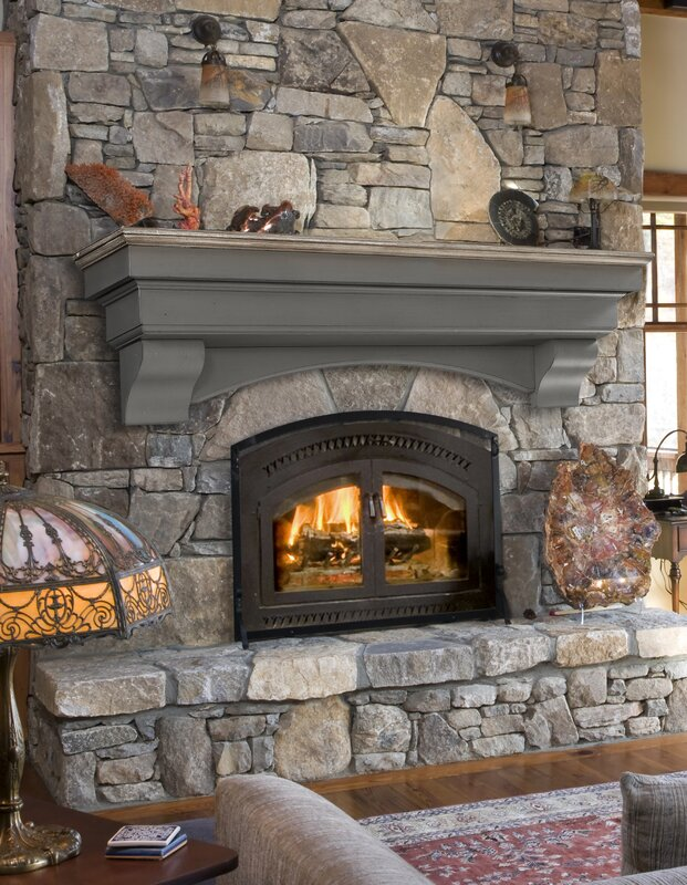 Pearl Mantels Hadley Cottage Fireplace Shelf Mantel