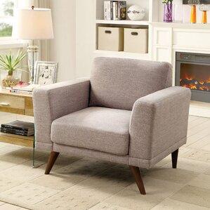 Rochefort Mid-Century Modern Armchair