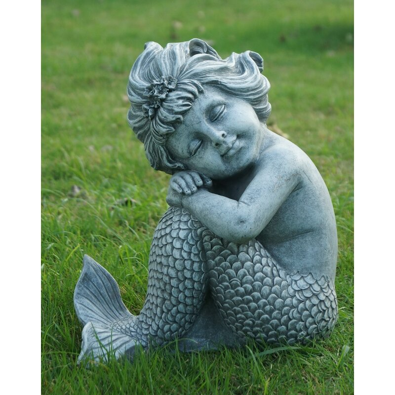 Hi Line Gift Ltd Mermaid Sitting Statue Amp Reviews Wayfair