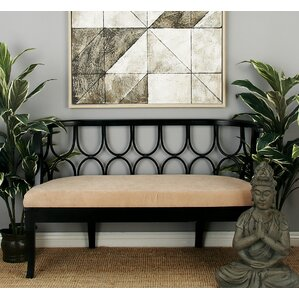 Wooden Bench by Cole & Grey