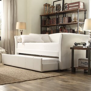 burlington daybed with trundle - Leather Daybed