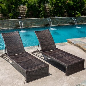 Acrion Chaise Lounge (Set of 2) : chaise lounge pool - Sectionals, Sofas & Couches