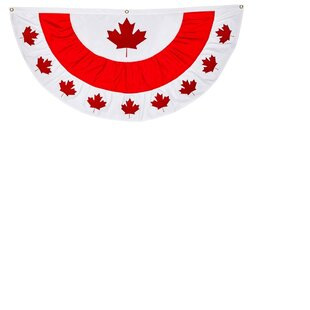 839825697c11 Canada Patritic Bunting Flag
