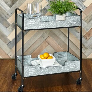 Portland Iron Bar Cart