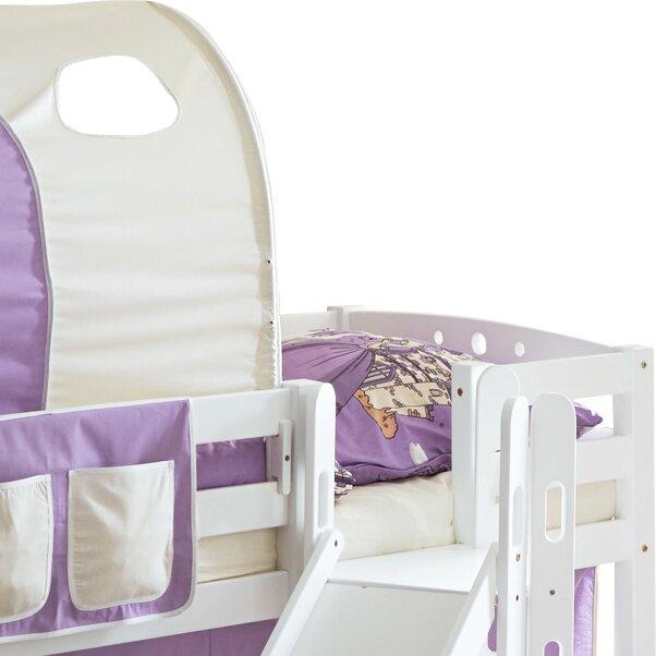 ticaa halbhochbett fino mit rutsche 90 x 200 cm bewertungen. Black Bedroom Furniture Sets. Home Design Ideas