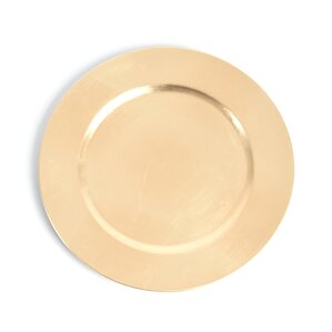 hillyard classic design charger plate set of 4