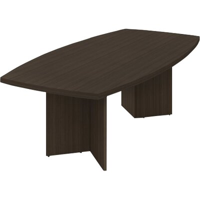 Wade Logan Mariana Boat Shaped H X W X L Conference - L shaped conference table