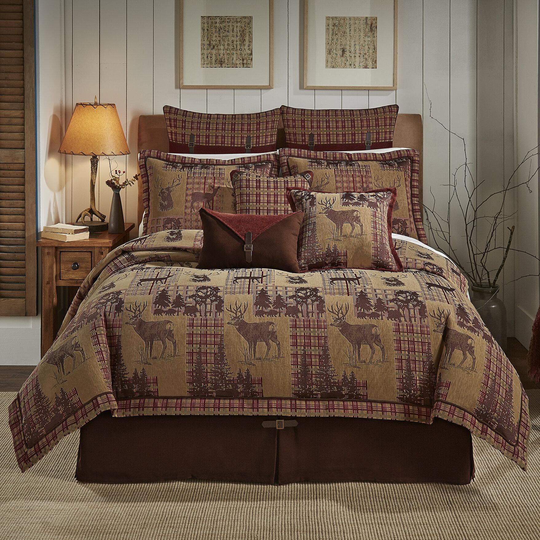 Croscill Glendale 4 Piece Reversible Comforter Set & Reviews | Wayfair