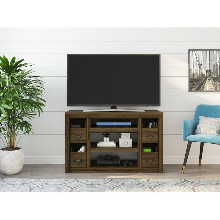 Millwood Pines Ricardo Tv Stand For Tvs Up To 55 With Electric