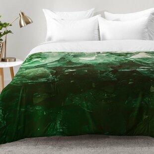 emerald gem comforter set - Velvet Bedding
