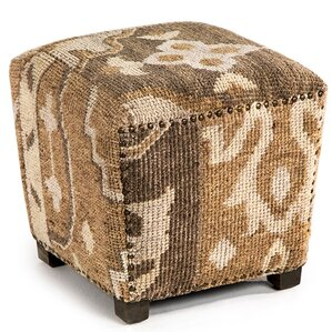 Clover Square Ottoman by Interlude