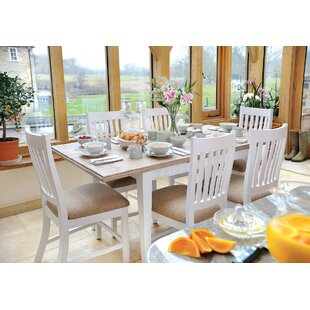 Bellemoor Extendable Dining Table With Chairs By Breakwater Bay - Extendable dining table seats 6