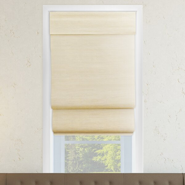 Chicology Cordless Double Layered Roman Shade & Reviews | Wayfair