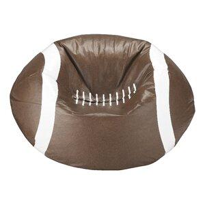 Kierra Football Bean Bag Chair