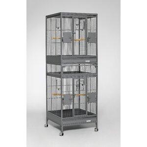 Multi Vista Bird Cage