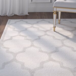 Maritza Beige/Light Grey Flat Woven Area Rug