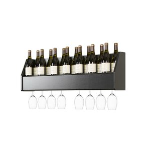 Keene 18 Bottle Wall Mounted Wine Rack..