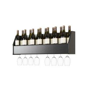 Keene 18 Bottle Wall Mounted Wine Rack by..