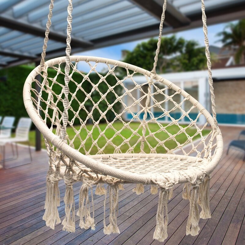 Ordinaire Cottle Hanging Rope Swing Chair