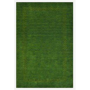 Columbiana Handwoven Green Rug by Longweave