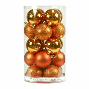 orange christmas ornaments youll love wayfair - Orange Christmas Tree