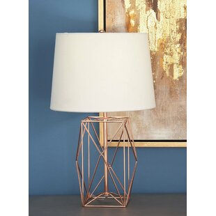 Wire lamps wayfair metal wire 21 table lamp greentooth Gallery