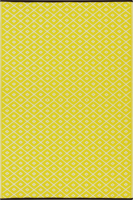 Green Decore Arabian Nights Yellow Outdoor Area Rug