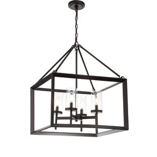rectangular cage chandelier geometric rectangle powell 4light squarerectangle chandelier rectangle cage wayfair