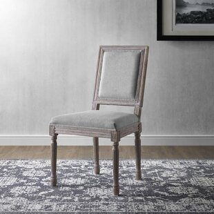 Vasbinder Vintage French Upholstered Dining Chair