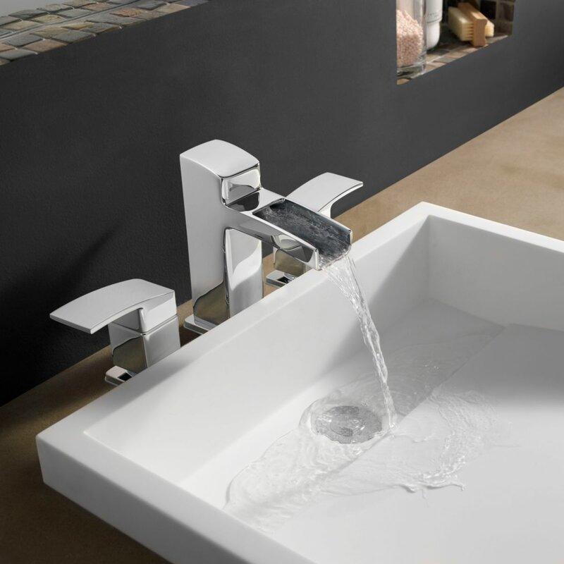 Kenzo Widespread Waterfall Faucet & Reviews | AllModern