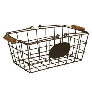Bon Decorative Storage Metal Basket