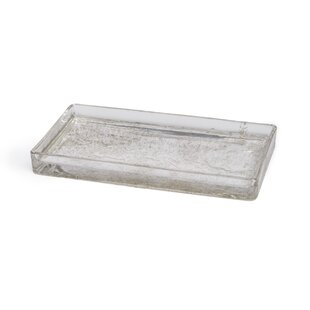 Stoutland Mercury Glass Bathroom Accessory Tray