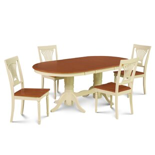Inwood 5 Piece Carved Dining Set