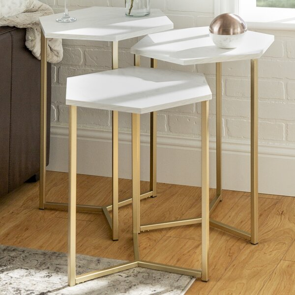 Stacked Book End Table | Wayfair