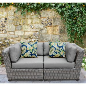 Florence 2 Piece Deep Seating Group with Cushion
