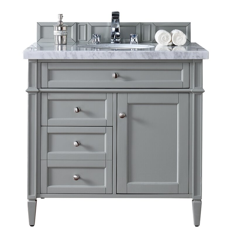 Brittany 36 Single Bathroom Vanity Set